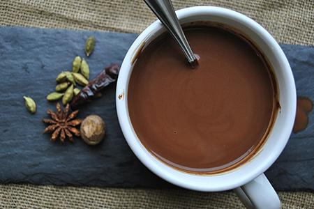 Cioccolata al cocco