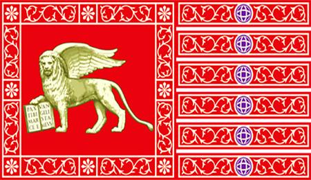 La bandiera della Repubblica Marinara di Venezia
