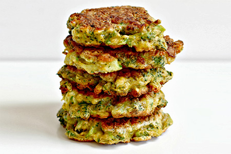 Frittatine speziate ai broccoli
