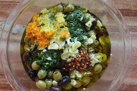 Olive speziate