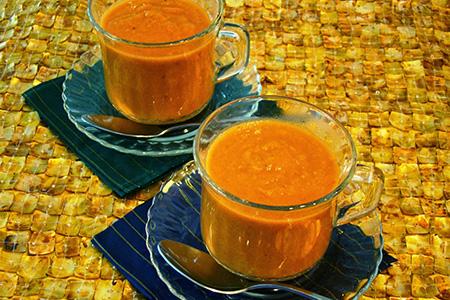 Zuppa di pomodoro speziata