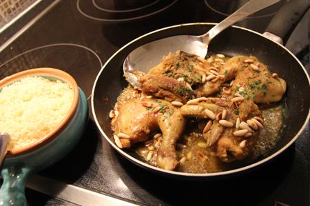 Pollo al ras el hanout