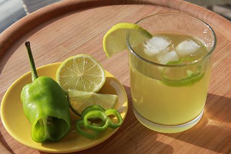Margarita al jalapeno