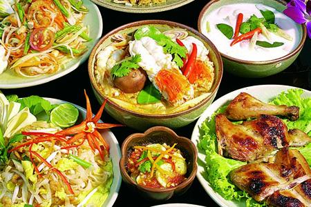 La cucina tailandese