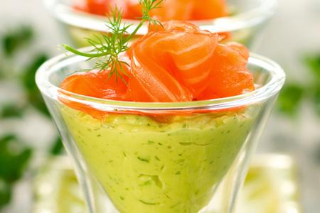 salmone al wasabi