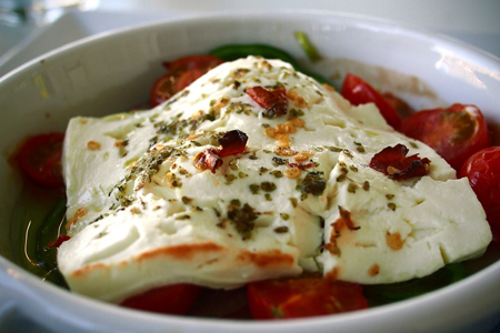 Feta arrostita