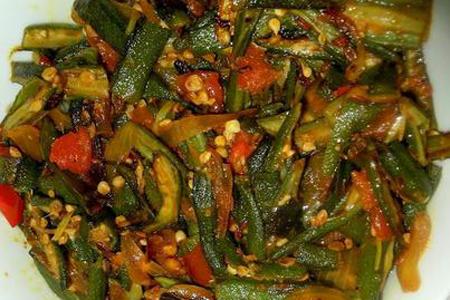 Bhindi anardana