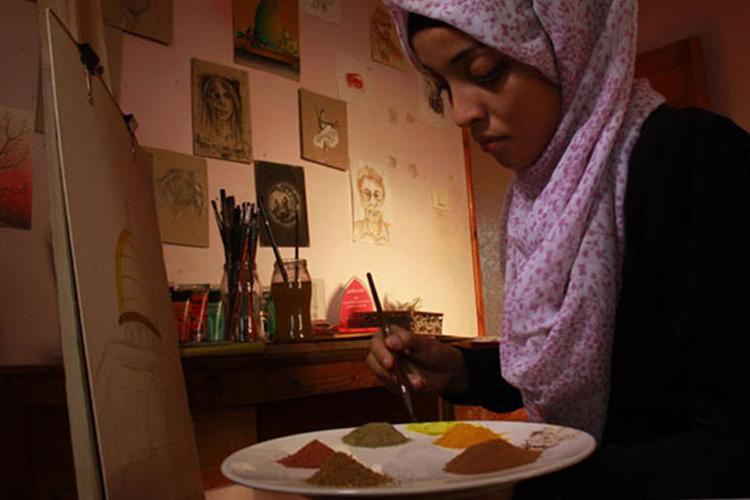 Dipingere con le spezie