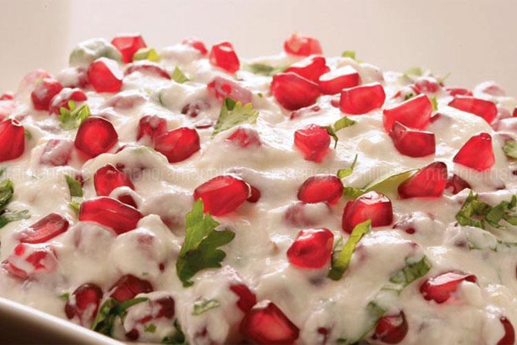 insalata di melagrana